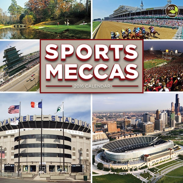 2016 Sports Meccas Wall Calendar