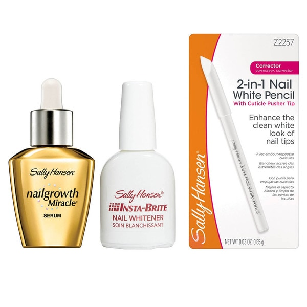 Sally Hansen Nailgrowth Miracle Serum and Nail Whitener