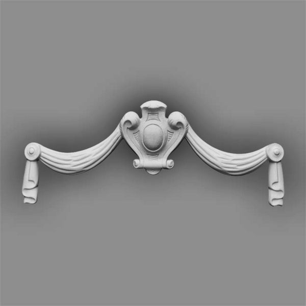 Gaudi Decor 13-inch Swag Medallion or Molding Accessory