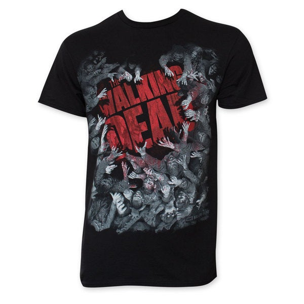 The Walking Dead Zombie Hoard Tee Shirt