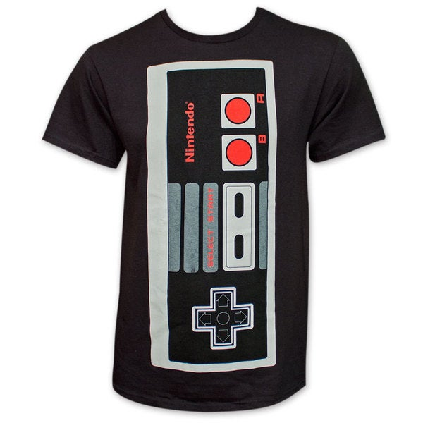 Nintendo NES Jumbo Controller Tee Shirt - Black