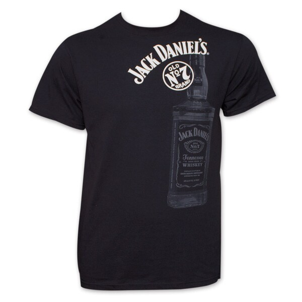 Jack Daniel's Whiskey Tee Shirt - Black