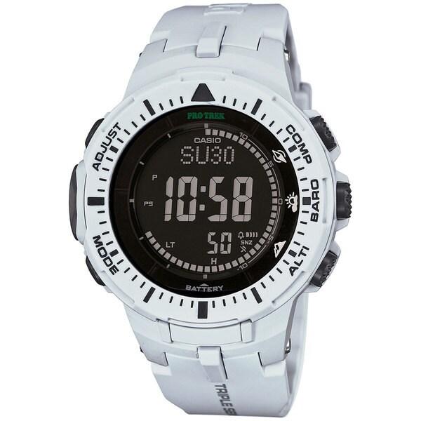 ProTrek Triple Sensor Watch White