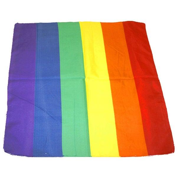 Cotton Rainbow Bandana