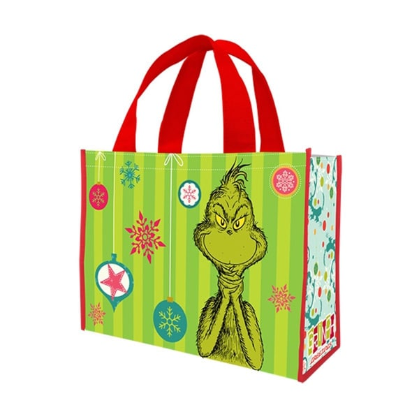 Dr. Seuss The Grinch Large Recycled Tote Bag