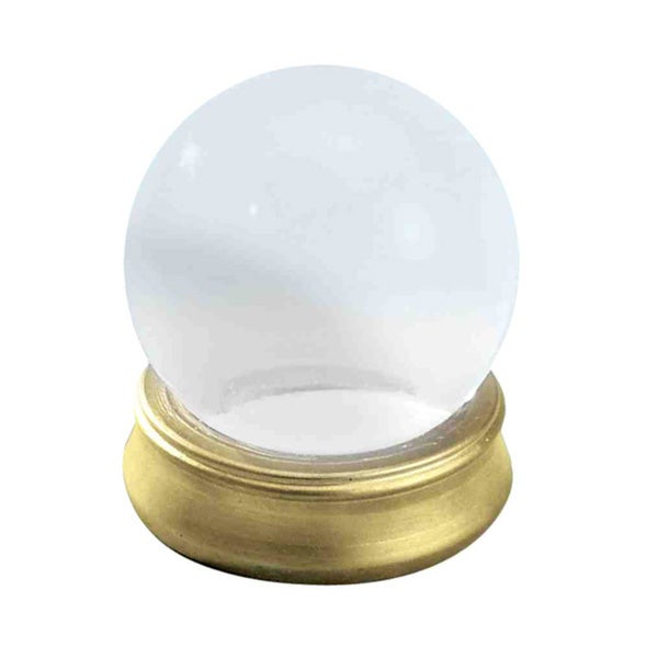 Crystal Ball with Stand Fortune Teller Prop