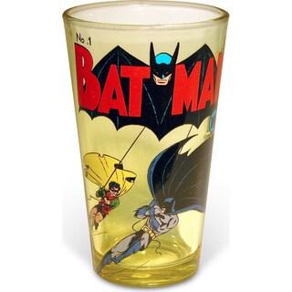 Superman Uniform 16-ounce Pint Glass