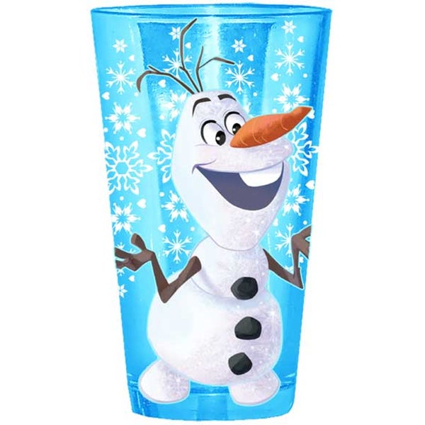Frozen Olaf Blue 16-ounce Pint Glass