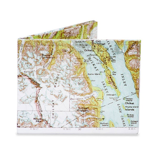 The Mighty Wallet Explorer Tyvek Dynomighty Map