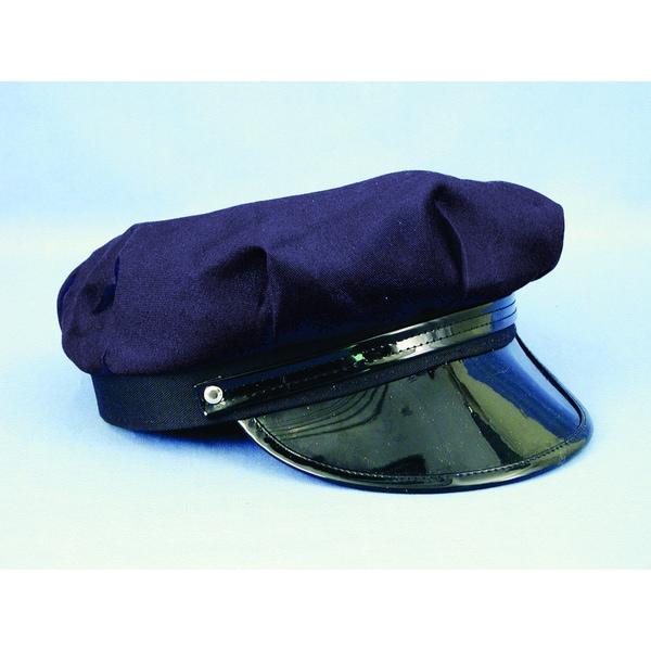 Navy Blue Chauffeur Cap Costume
