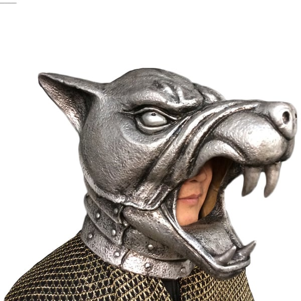 Game of Thrones The Hound's Battle Helmet Costume