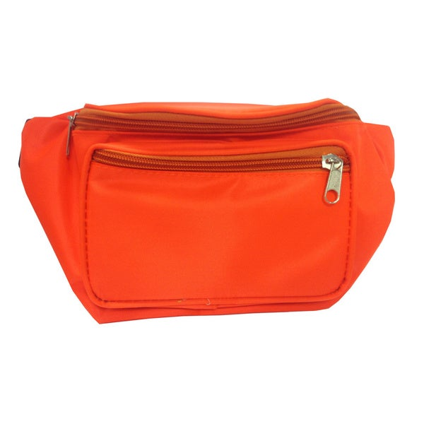 Neon Orange Fanny Pack