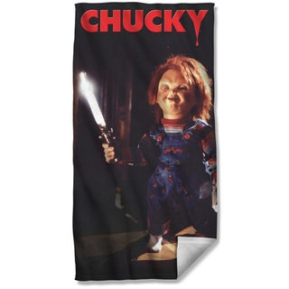 Chucky Child's Play Beach Towel