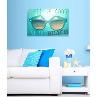 Blakely Home 'At The Beach' Canvas Art