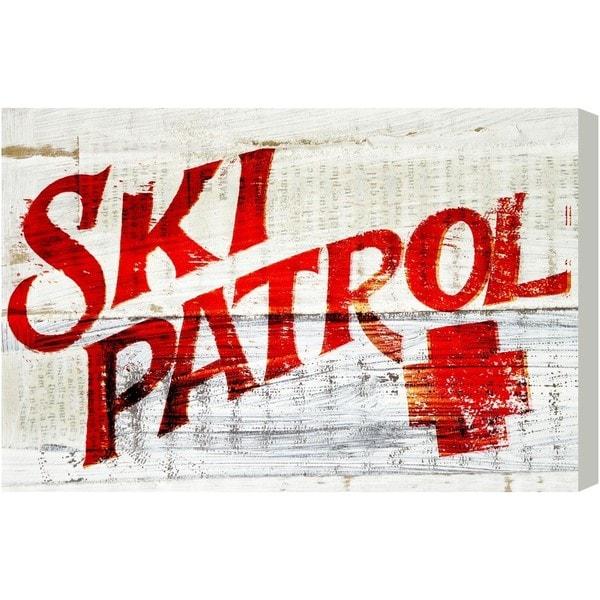 Blakely Home 'Ski Patrol Vintage' Canvas Art
