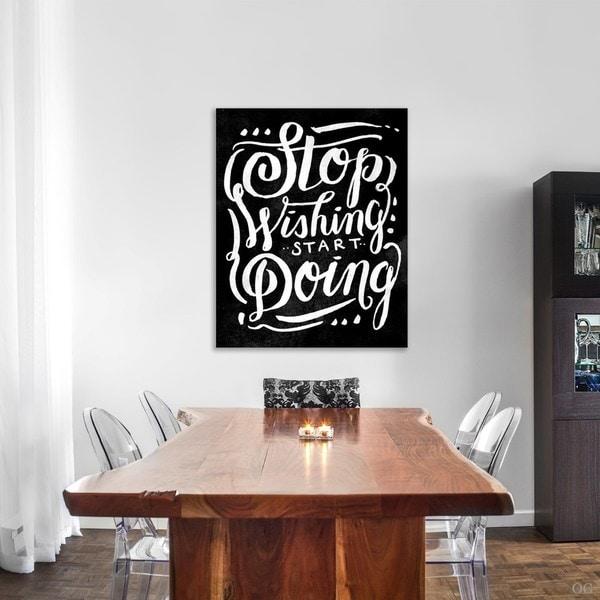 Blakely Home 'Start Doing Noir' Canvas Art