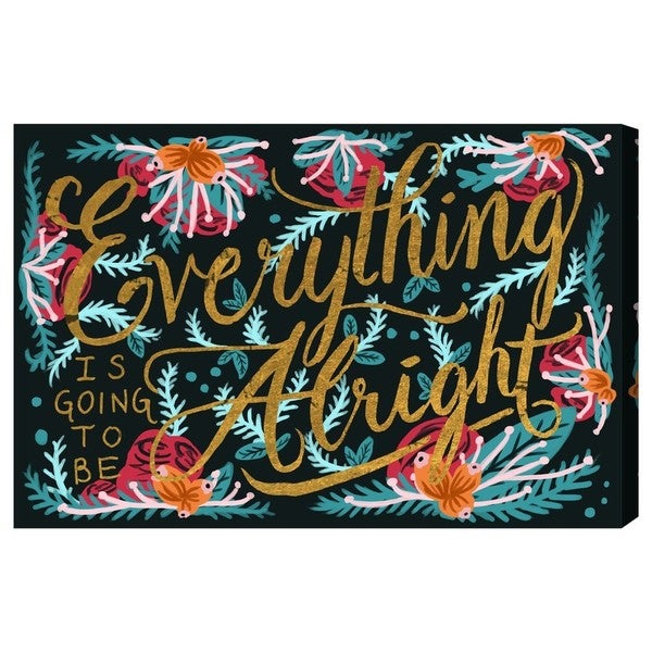 Blakely Home 'Alright' Canvas Art