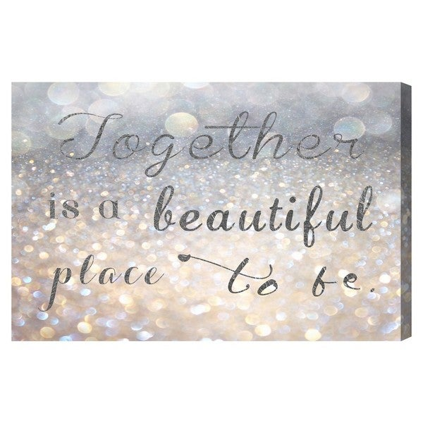 Blakely Home 'Beautiful Place to Be' Canvas Art