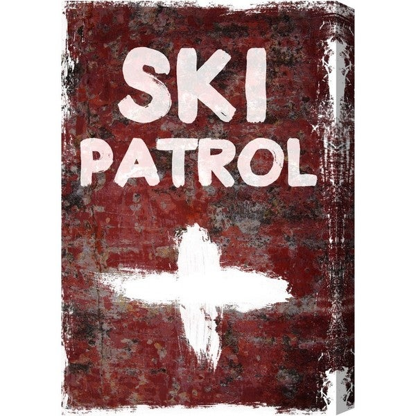 Blakely Home 'SKI Patrol' Canvas Art