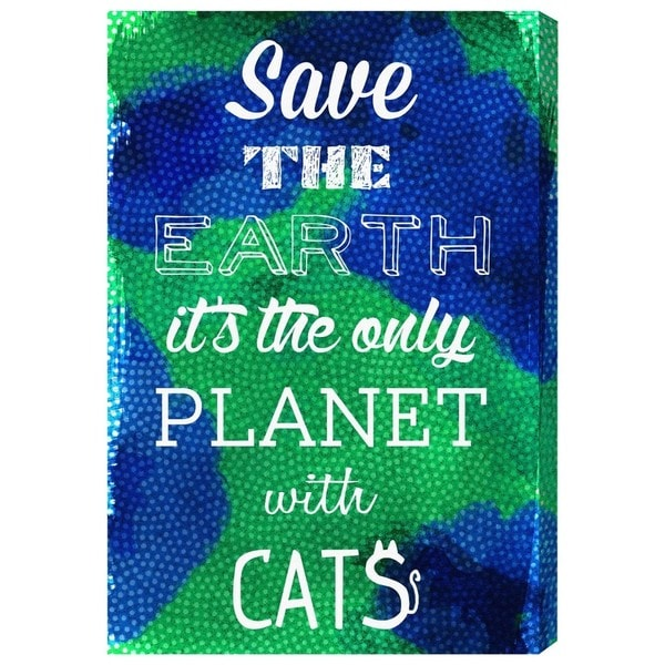 Blakely Home 'Cat Planet' Canvas Art