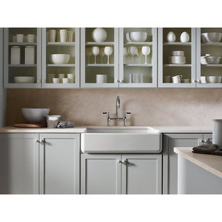 30 Inch White Farmhouse Sink : HighPoint Fireclay 30-inch White Farm Sink - 12915070 - Overstock.com ...