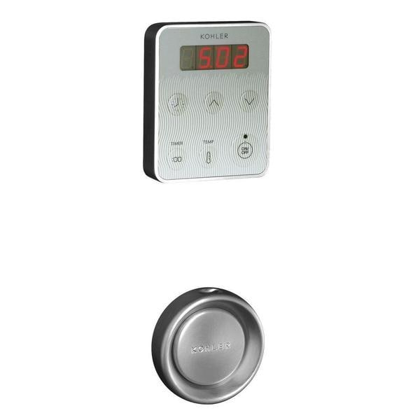 Kohler Steam Generator Control Kit in Brushed Chrome