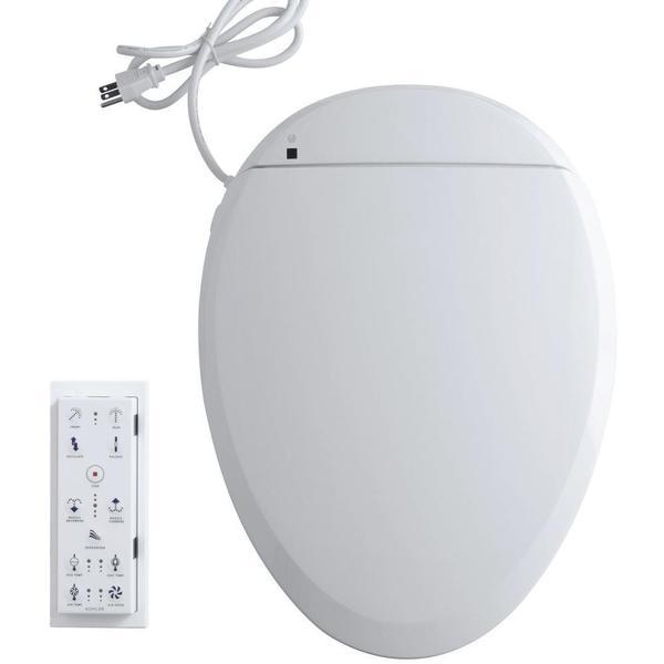 Kohler C3 201 Electric Bidet Seat for Elongated Toilets in White