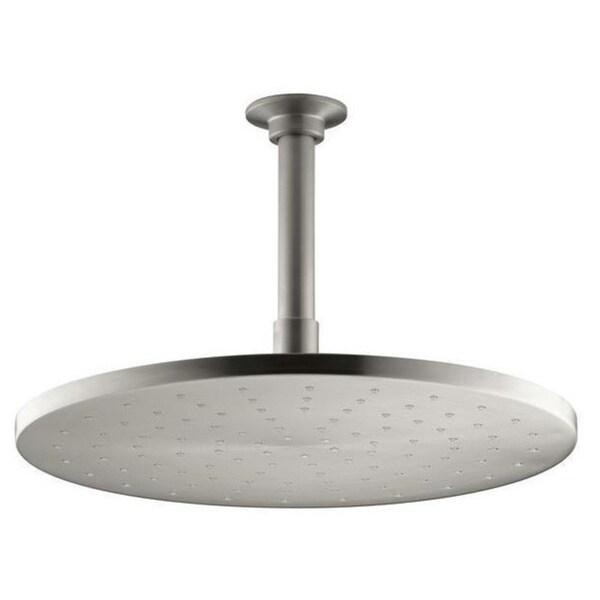Kohler Contemporary 1-Spray 12 inch Round Rain Showerhead in Vibrant Brushed Nickel 15994184