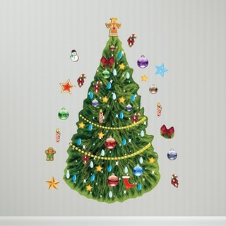 Christmas Tree Wall Decal Set