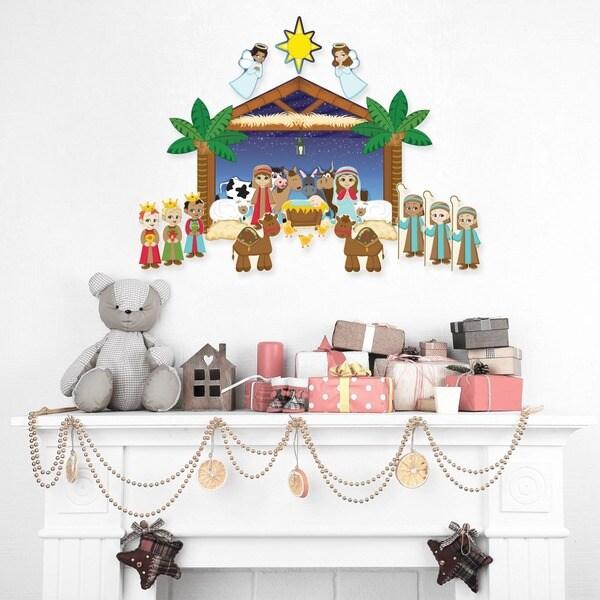 Nativity Wall Decal Set