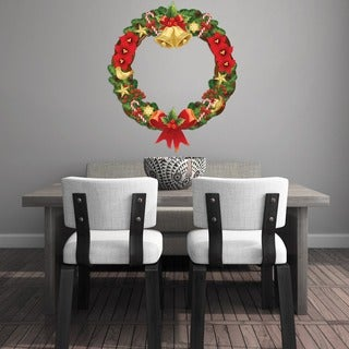 Wreath Wall Decal Set