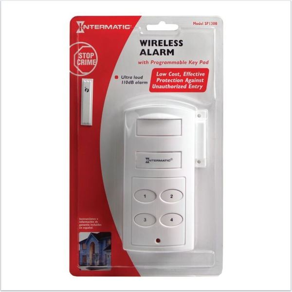 Streetwise Security Products Intermatic Magnetic Contact Alarm with Keypad