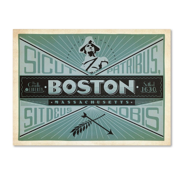 Anderson Design Group 'Boston' Canvas Art