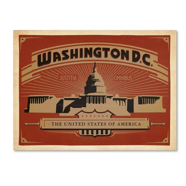 Anderson Design Group 'Washington DC II' Canvas Art