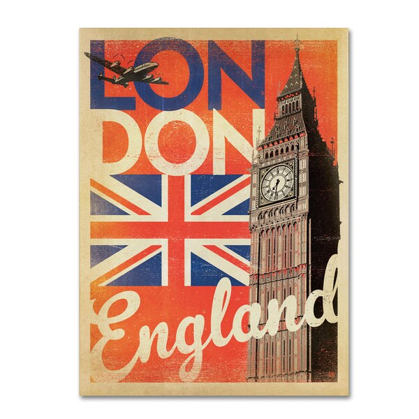 Anderson Design Group 'London, England II' Canvas Art