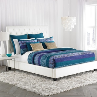Amy Sia Aqueous Light Pieced Quilt