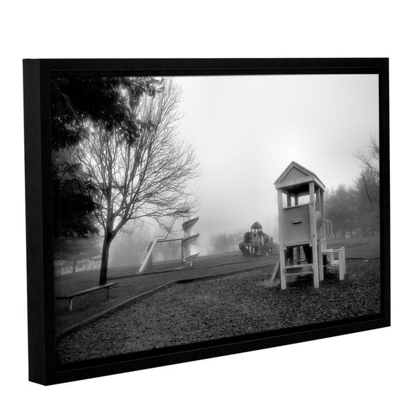 ArtWall Steve Ainsworth 'Where Have All The Children Gone' Gallery-wrapped Floater-framed Canvas