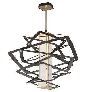 Corbett Lighting Tantrum 1-light Bronze Large Pendant