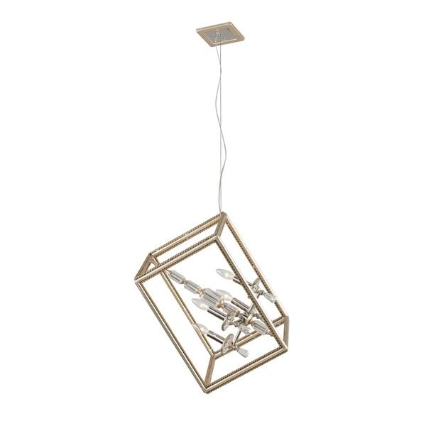 Corbett Lighting Houdini 4-light Small Single Pendant 15996176