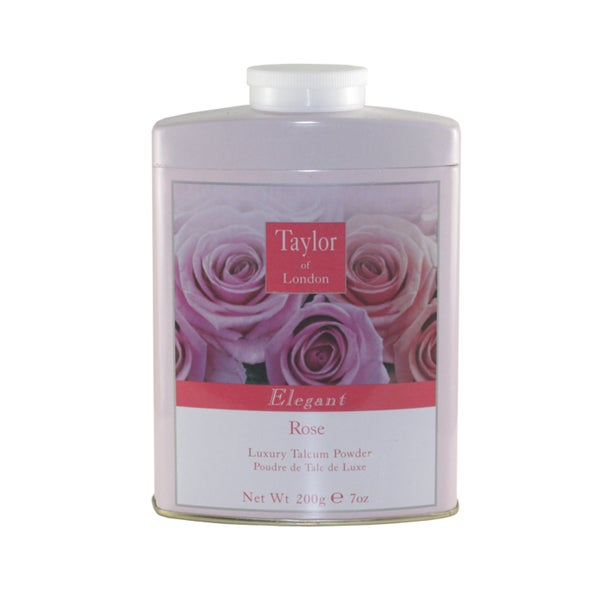 Taylor Of London Rose Women's 7-ounce Luxury Talcum Powder