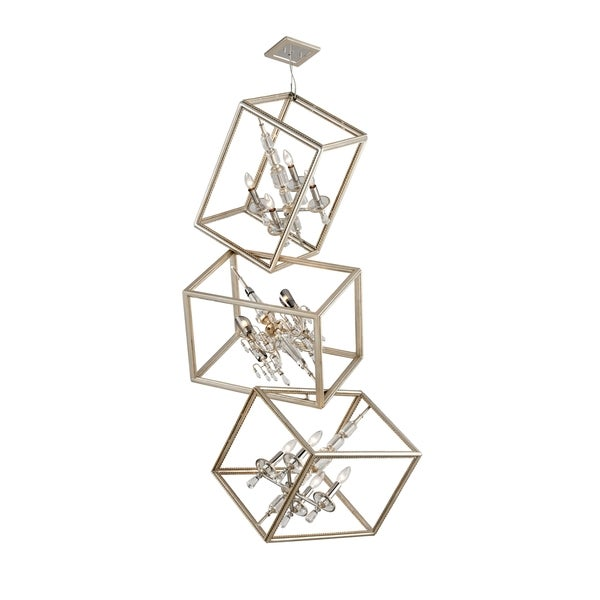 Corbett Lighting Houdini 8 + 4-light Pendant Triple