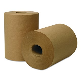 Wausau Paper EcoSoft Universal Natural Roll Towels (Pack of 12)
