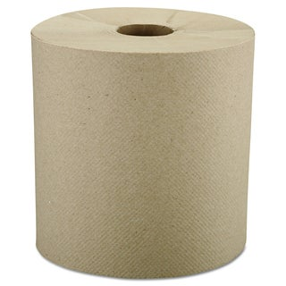 Windsoft Nonperforated Brown Roll Towels (Pack of 6)