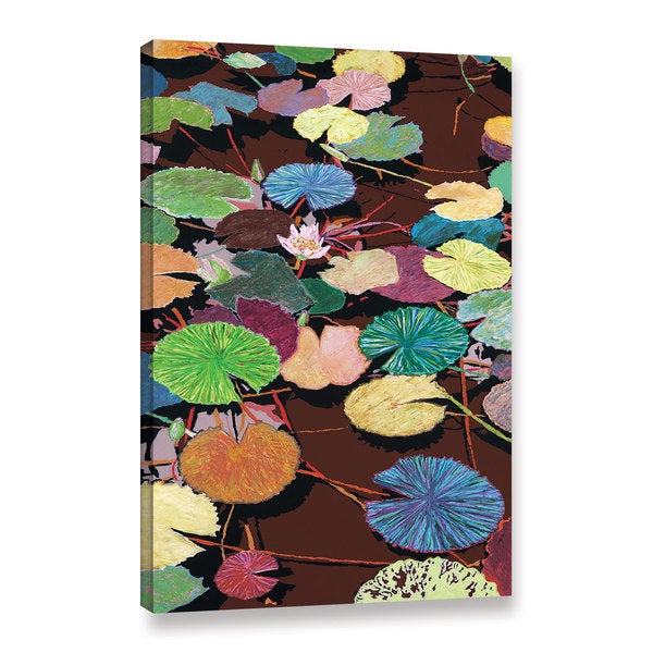 ArtWall Allan Friedlander 'Muddy Waters' Gallery-wrapped Canvas