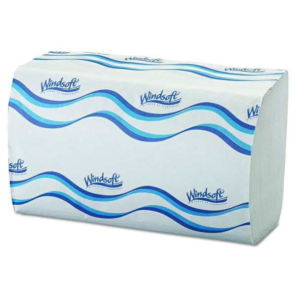 Windsoft Singlefold White Paper Towels (16 Packs of 250 Towels)