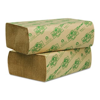 Wausau Paper EcoSoft Multifold Natural Towels (16 Packs of 250 Towels)