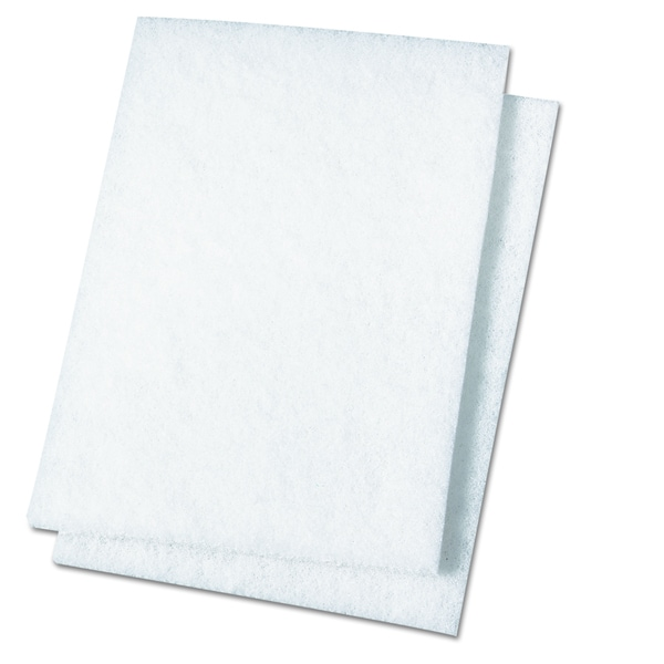 Premiere Pads White Light Duty Scour Pad (Pack of 20)