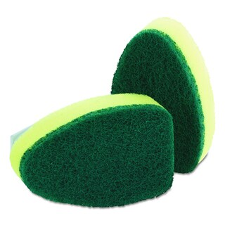 Scotch-Brite Refill Sponge Heads for Heavy-Duty Dishwand (Pack of 2)