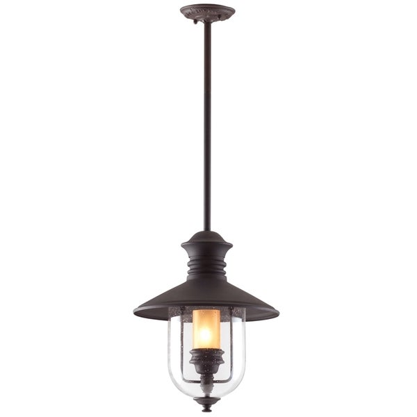 Troy Lighting Old Town 1-light Large Hanging Lantern