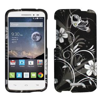 Insten Design Pattern Hard Snap-on Rubberized Matte Phone Case Cover For Alcatel One Touch Pop Astro